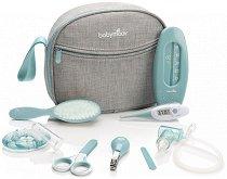 Бебешки тоалетни принадлежности - Комплект от 9 части с чантичка - продукт