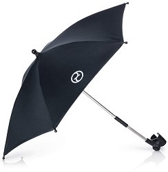 Чадър с UV защита: Black - Аксесоар за детска количка -