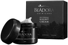 BeAdora Restoring Night Cream - Възстановяващ нощен крем за лице против бръчки -