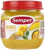 Пюре от манго - Бурканче от 125 g за бебета над 4 месеца - пюре