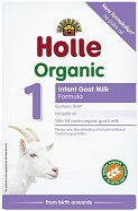Био козе мляко за кърмачета - Holle Organic Goat Milk Formula 1 - Опаковка от 400 g за бебета от 0 до 6 месеца - залъгалка