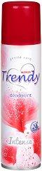 Trendy Intense Deodorant - Дамски дезодорант - мокри кърпички