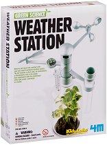 "Метеорологична станция - Детски образователен комплект ""Green Science"" - играчка"