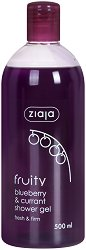 Ziaja Fruity Blueberry & Currant Shower Gel - Душ гел с екстракт от черна боровинка и касис - крем