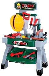 Детска работилница - Tools - Комплект с инструменти -