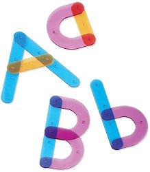 Конструиране на букви - Образователен комплект - играчка