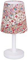 Нощна лампа - Червени цветя - Детски аксесоар - играчка