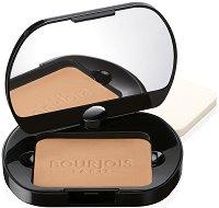 Bourjois Silk Edition Compact Powder - Дълготрайна компактна пудра за лице с матиращ ефект - спирала