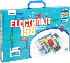 Конструктор - Electrokit 198 - Образователен комплект - играчка