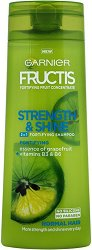 Garnier Fructis Strength & Shine 2 in 1 Shampoo - Подсилващ шампоан 2 в 1 за нормална коса - пяна