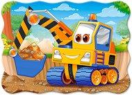 Жълто багерче - пъзел