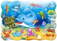 Подводни приятели - Пъзел в нестандартна форма - пъзел