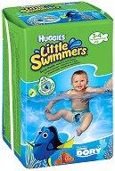 Huggies Little Swimmers 3/4 - Бански гащички за еднократна употреба за бебета с тегло от 7 до 15 kg - продукт