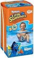 Huggies Little Swimmers 5/6 - Бански гащички за еднократна употреба за бебета с тегло от 12 до 18 kg - продукт