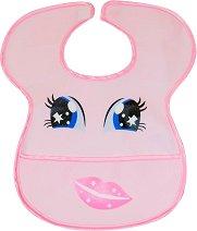 Лигавник с джоб - За бебета от 3 до 10 месеца - аксесоар