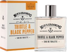 "Scottish Fine Soaps Men's Grooming Thistle & Black Pepper EDT - Парфюм за мъже от серията ""Men's Grooming"" - крем"