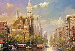 Следобед в Ню Йорк - Александър Чен (Alexander Chen) -