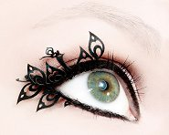 Paperself Peacock Eyelashes -