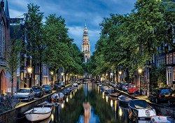 Привечер по канал в Амстердам -