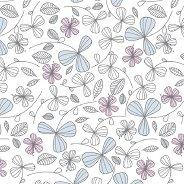 Салфетки за декупаж - Нежни цветя