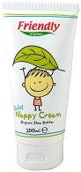 Friendly Organic Baby Nappy Cream - Бебешки крем против подсичане с био масло от ший - лосион