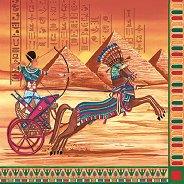 Салфетки за декупаж - Египет - Пакет от 20 броя