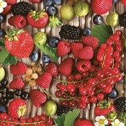 Салфетки за декупаж - Плодове - Пакет от 20 броя