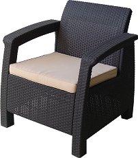 Кресло - Корфу - Имитация на ратан