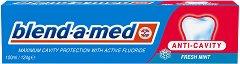 Blend-a-med Anti-Cavity Fresh Mint - Паста за зъби за максимална защита от кариеси с активен флуорид -