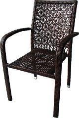 Градински стол - 59-2 - Имитация на ратан