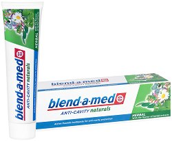 Blend-a-med Anti-Cavity Herbal Collection - Паста за зъби с билкови екстракти и активен флуорид - пяна