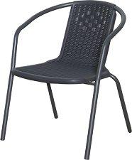 Градински стол - 4572 - Имитация на ратан
