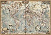 Политическа карта на света - миниатюра - пъзел
