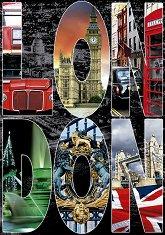 Колаж на Лондон -