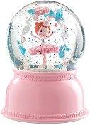 Нощна лампа - Балерина - Детски аксесоар с таймер за изключване -
