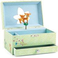 Музикална кутия за бижута - Песента на сърничката - играчка