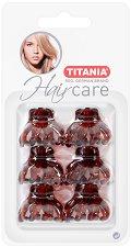 """Щипки за коса - Комплект от 6 броя от серията """"Hair Care"""" -"""