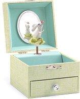 Музикална кутия за бижута - Песента на зайчето - играчка