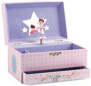 Музикална кутия за бижута - Песента на балерината - играчка