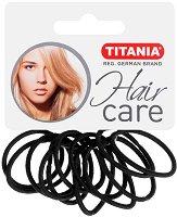 """Ластици за коса - Комплект от 12 броя от серията """"Hair Care"""" - четка"""