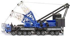 """Автокран - Heavy Mobile Crane - Метална играчка от серията """"Super: Cranes"""" -"""