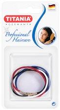 """Цветни ластици за коса - Комплект от 8 броя от серията """"Hair Care"""" -"""