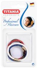 """Цветни ластици за коса - Комплект от 4 броя от серията """"Hair Care"""" - продукт"""