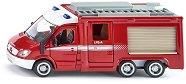 """Противопожарна кола - Mercedes-Benz Sprinter - Метална играчка от серията """"Super: Emergency rescue"""" - фигура"""