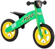 """Костенурките Нинджа - Детски дървен велосипед без педали 12"""""""
