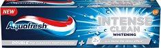 Aquafresh Intense Clean Whitening - Избелваща паста за зъби -