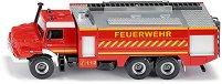 """Противопожарна кола - Mercedes-Benz Zetros - Метална играчка от серията """"Super: Emergency rescue"""" -"""