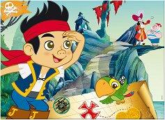 Джейк и пиратите от Невърленд - Двулицев пъзел -