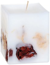 Ароматна свещ с етерично масло от кедър - четка
