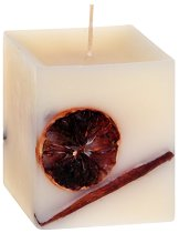 Ароматна свещ с етерично масло от сандал - сапун